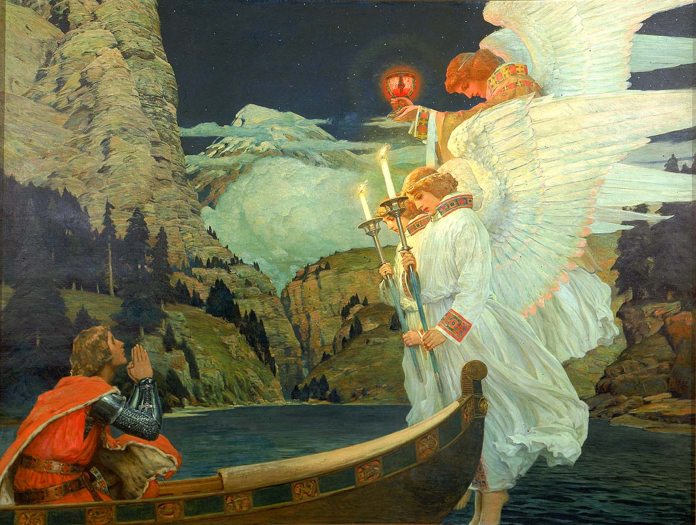 Frederick_J._Waugh_-_The_Knight_of_the_Holy_Grail_-_1912.5.1_-_Smithsonian_American_Art_Museum