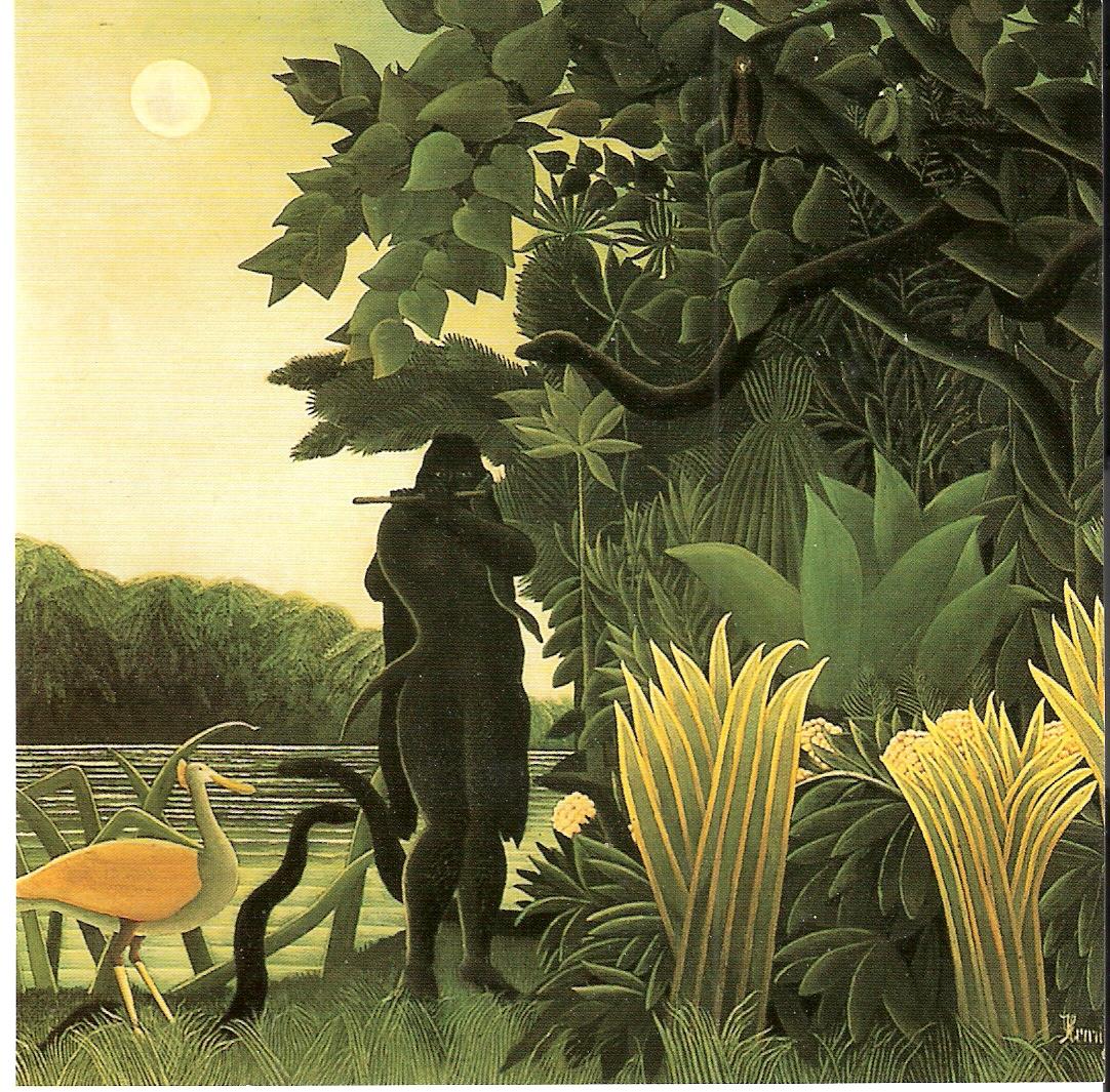 Rousseau Charmeuse des Serpents